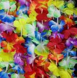 Colar Havaiano De Tecido Luxo Flores Fantasia Festas Formaturas - Brbrinq