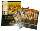 Coleçã Filosofos e a Educação I Filosofia - Editora cedic