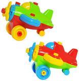 Coleção Aprenda a Montar Avião DMT5095 DMToys Sortida - Dm toys