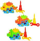 Coleção Aprenda a Montar Dino DMT5098 DMToys Sortida - Dm toys
