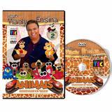 Coleção DVD Animais com Furadores Volume II com Vlady - Artesanato digital