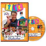 Coleção DVD Recreação Educacional Didática Dedoches com Vlady - Artesanato digital
