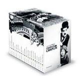Coleção folha Charles Chaplin completa + box