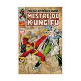 Colecao historica marvel - mestre do kung fu - vol 4 - panini - Panini comics