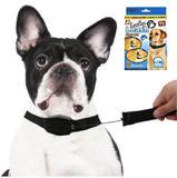 Coleira 2 em 1 Retratil 1.20 Metros Cachorro Cao Gato Colar Magnetico Pet (34251) - Ideal