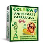 Coleira anti-pulga e carrapatos dugs