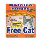 Coleira anti pulga Free Cat para Gatos