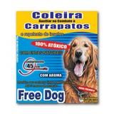 Coleira Anti-pulgas e Carrapatos Free Dog - Msd