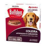 Coleira Antipulgas E Carrapatos Coveli Bulldog 7 Para Cães 25g