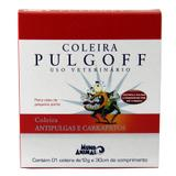 Coleira Antipulgas e Carrapatos Pulgoff P 30cm - Mundo Animal