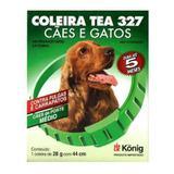 Coleira Antipulgas E Carrapatos Tea 327 M 44cm Para Cães - Outros