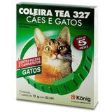 Coleira Antipulgas Tea Gatos - Konig