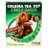Coleira Contra Pulgas e Carrap - Cães Porte Médio-28g c/44cm - Konig