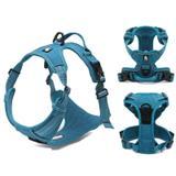 Coleira para cachorro de médio porte Tórax 69-81 cm Azul - Truelove