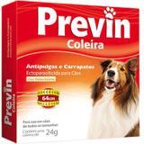 Coleira Previn Antipulgas e Carrapatos para cães - Coveli