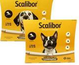 Coleira Scalibor Kit Com 2 Unidades - 1 P e 1 G - Msd