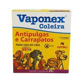 Coleira Vaponex Antipulgas e Carrapatos Cães 64cm Coveli