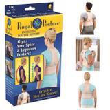 Colete corretor postural magnetico cinta para postura unissex - Faça  resolva