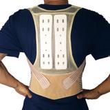 Colete Para Corrigir Postura Bege Elástico - Corretor postural