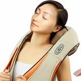 Colete Shiatsu Massageador Pescoço Neck Plus Bivolt Infravermelho - Alcateia
