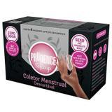 Coletor menstrual descartavel prudence