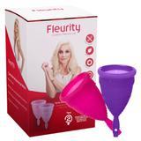 Coletor Menstrual Tipo 2 Fleurity - Cuidados Femininos