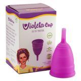 Coletor Menstrual Tipo A (+30 anos ou com filhos) Violeta Cup - Cuidados Íntimos