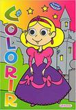 Colorir - Garotas: Col. Olhos mágicos - Girassol