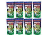 Combo 8 Unidades Petisco Para Cachorro Ossinho Palito Sabor Menta Deliciosso 100g - Xisdog