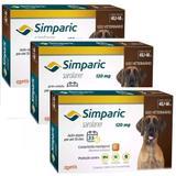 Combo Anti Pulga Simparic 120 Mg 40,1 A 60 Kg 9 Comprimidos - Zoetis