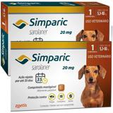 Combo Anti Pulgas Simparic 20 Mg 5,1 A 10 Kg 6 Comprimidos - Zoetis