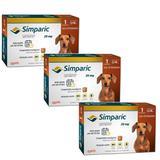 Combo Anti Pulgas Simparic 20 Mg 5,1 A 10 Kg 9 Comprimidos - Zoetis