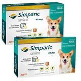 Combo Anti Pulgas Simparic 40 Mg 10, A 20 Kg 6 Comprimidos - Zoetis