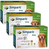 Combo Anti Pulgas Simparic 80 mg 20,1 A 40 Kg 9 Comprimidos - Zoetis