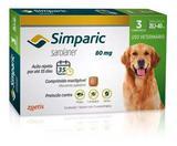 Combo Antipulga Simparic 80 Mg 20 A 40 Kg 3 Comprimidos - Zoetis