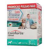 Combo Antipulgas Elanco Comfortis para Cães de 9 a 18Kg e Gatos de 5,4 a 11Kg