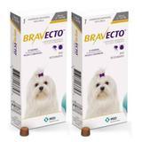 Combo Bravecto Antipulgas E Carrapatos Para Cães De 2 - 4,5kg - 2 unidades - Msd