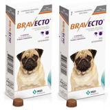 Combo Bravecto Antipulgas E Carrapatos Para Cães De 4,5 - 10kg - 2 unidades - Msd