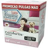 Combo Comfortis Antipulgas 140 mg Elanco 03 Comprimidos