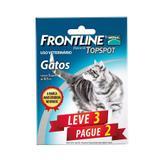 Combo Frontline Top Spot Gatos Merial 3 pipetas