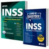 Combo INSS 2019 - Apostila Analista do Seguro Social + Livro Questões Comentadas - Editora Nova - Nova concursos