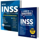 Combo INSS 2019 - Apostila Técnico do Seguro Social + Livro Questões Comentadas - Editora Nova - Nova concursos
