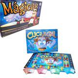 Combo - Jogo Cuca Legal 600 Perguntas + Jogo Mágicas c/ Acessórios - Pais e filhos