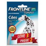 Combo Leve 3 Pague 2 - Frontline Topspot Para Cães De 20 A 40kg - Merial