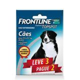 Combo Leve 3 Pague 2 - Frontline Topspot Para Cães De 40 A 60kg - Merial