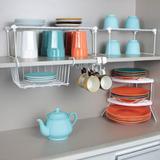 Combo Organização de Cozinha - Kit 5 peças - Branco - Metaltru