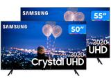 "Combo Smart TV Crystal UHD 4K LED 55"" - Samsung + Smart TV Crystal UHD 4K LED 50"""