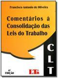 Comentarios a consolidacao das leis do trabalho 01 - Ltr