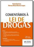 Comentarios a lei de drogas - juspodivm - Editora juspodivm lv