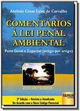 Comentarios a lei penal ambiental parte geral e es - Jurua